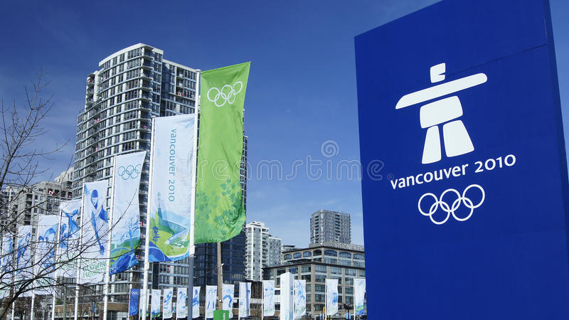 olimpiady Vancouver obraz stock