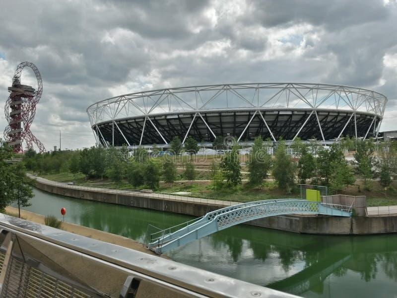 Olimpic park stock photo