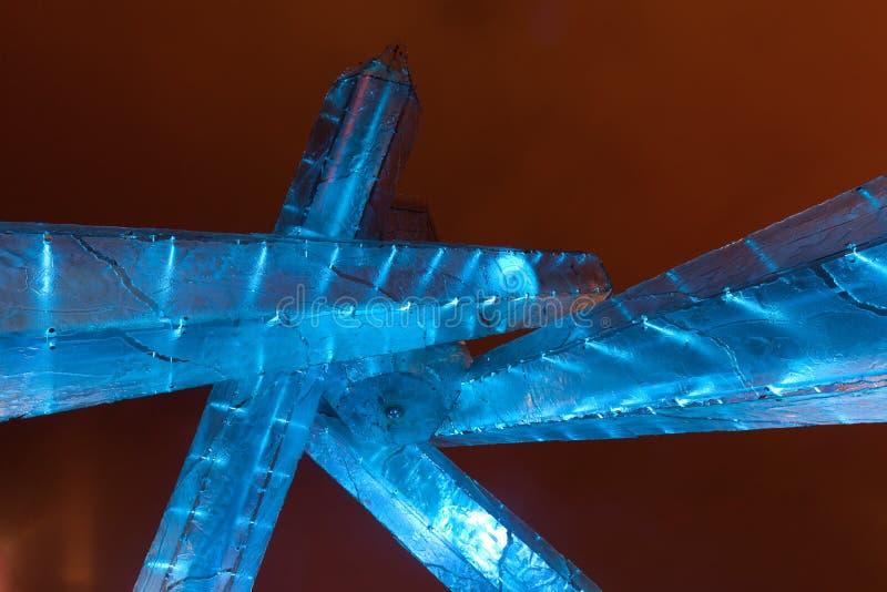 Olimpijscy płomienie Vancouver zdjęcia royalty free