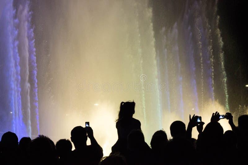 Olimpijska fontanna fotografia royalty free