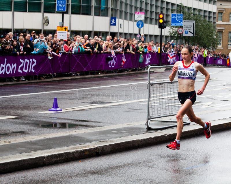 Olimpijski Maraton zdjęcie stock