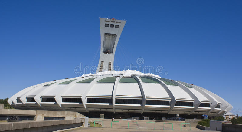 olimpijski Montreal stadium obraz stock