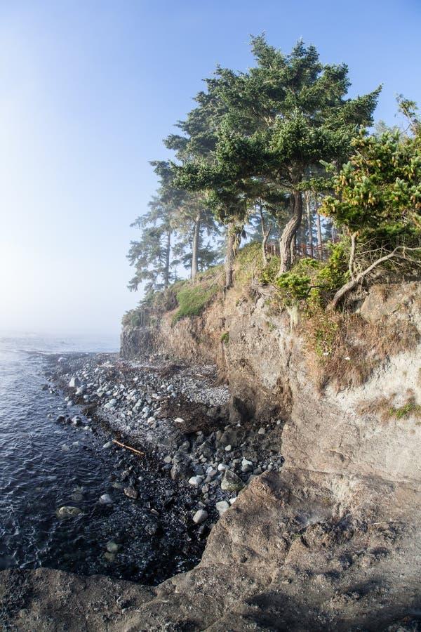 Olimpijski półwysepa wybrzeże 2 fotografia royalty free