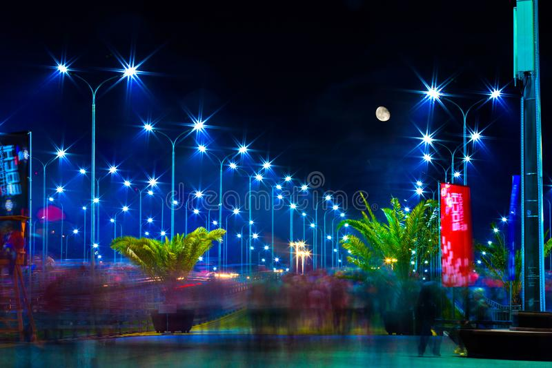 Olimpijski park, Sochi Autodrom Rosja, Listopad, - 2014 fotografia stock