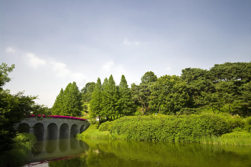 olimpijski parkowy Seoul obrazy royalty free