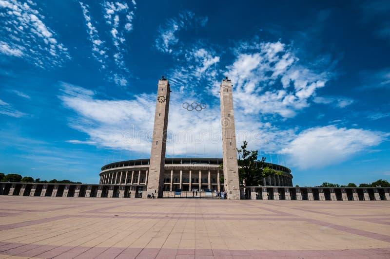Olimpijski stadium Berlin fotografia royalty free