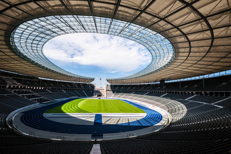 Olimpijski stadium Berlin zdjęcia royalty free