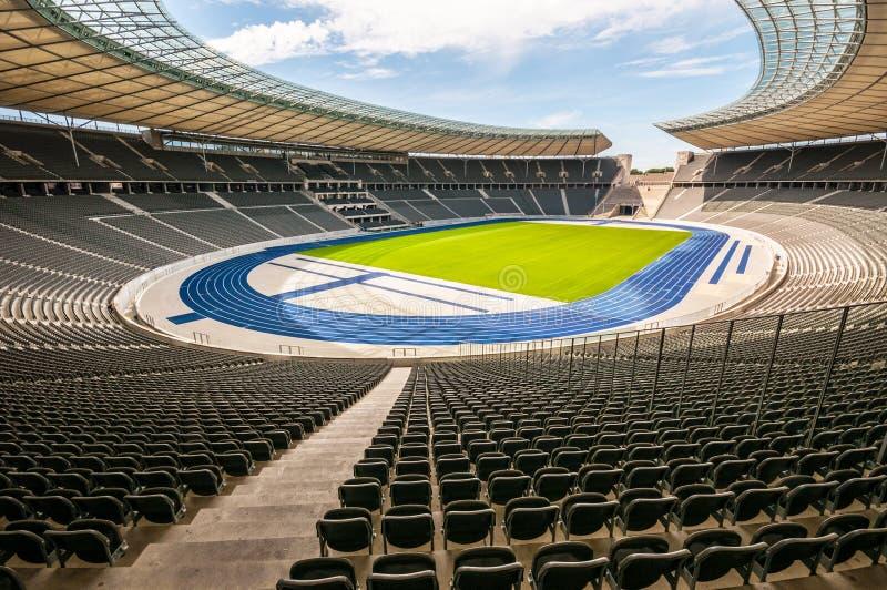 Olimpijski stadium Berlin zdjęcie royalty free