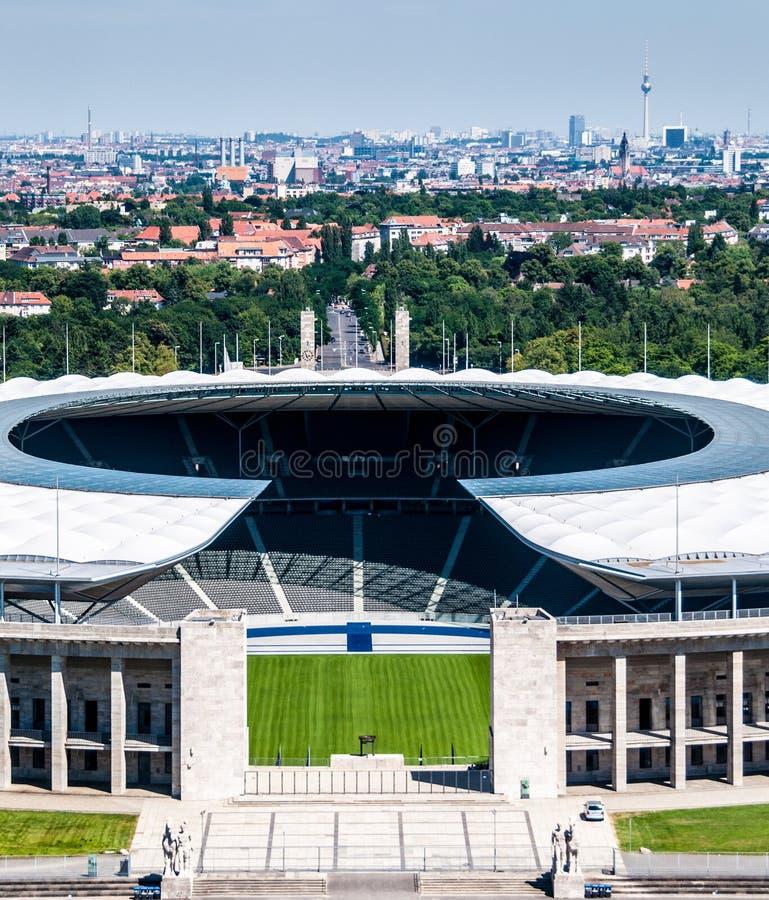 Olimpijski stadium Berlin fotografia stock
