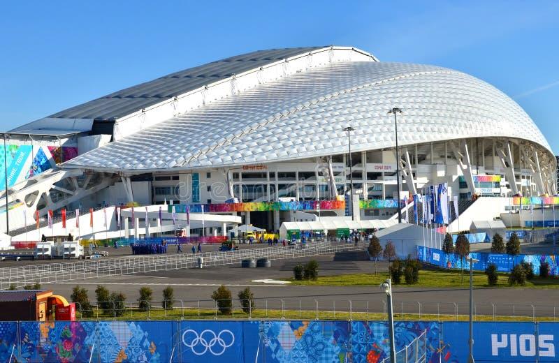 Olimpijski stadium Fisht w Sochi, Rosja zdjęcia royalty free