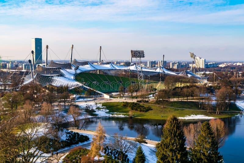 Olimpijski stadium w Munich zdjęcie stock