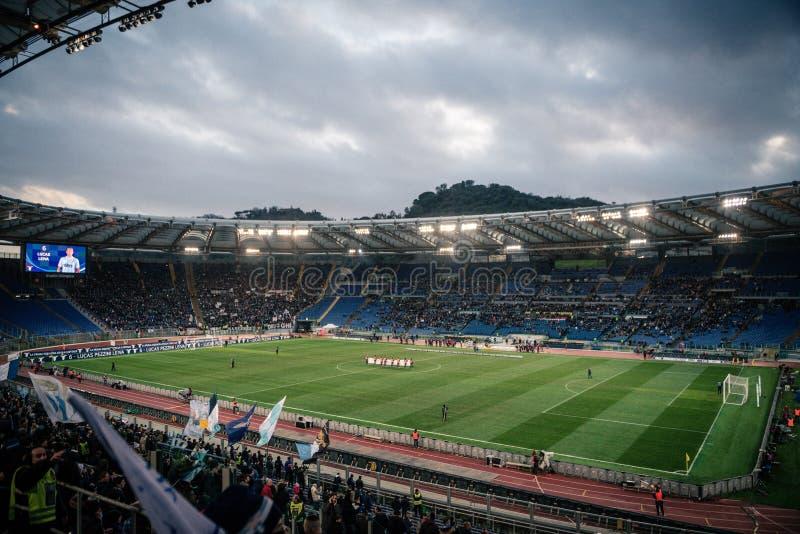 Olimpijski stadium w Rzym, Włochy zdjęcie stock