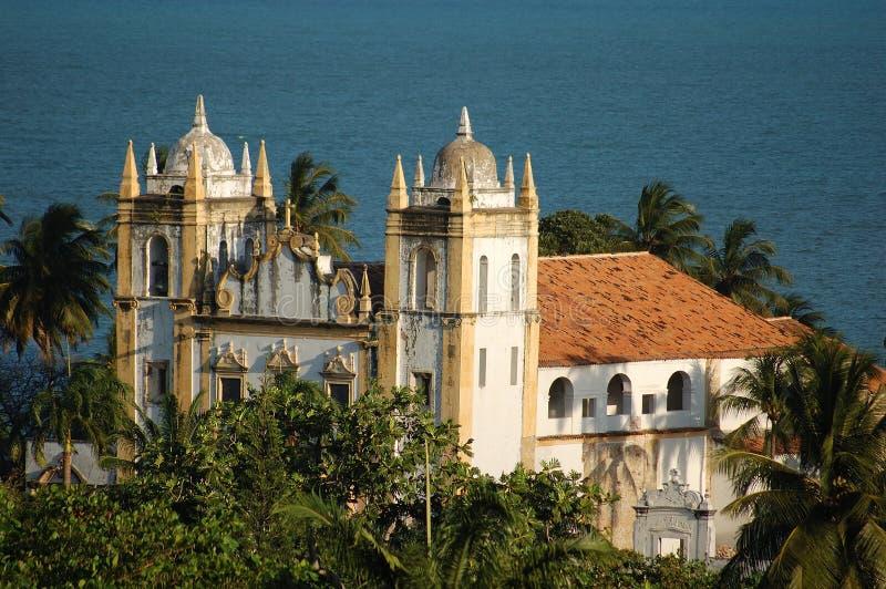 Olinda - Church royalty free stock image