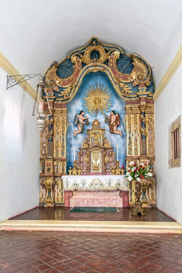 Olinda, Pernambuco, Brazil - JUL, 2018: Cathedral Alto da Se stock photos