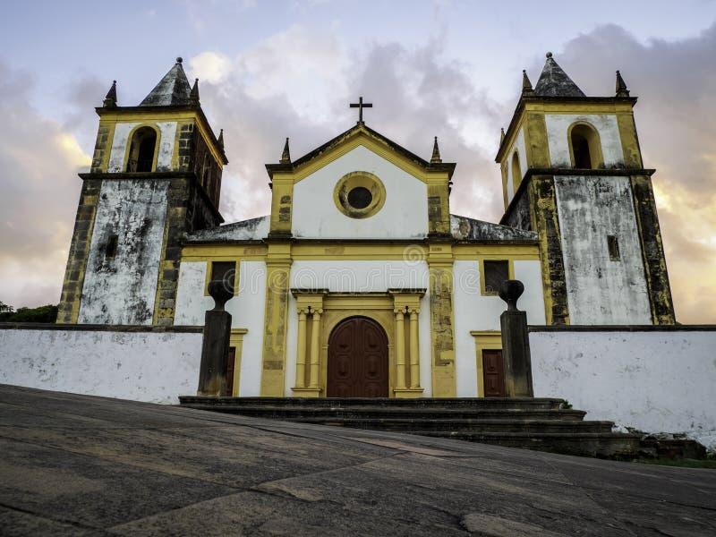 Olinda in Pernambuco, Brazil stock images
