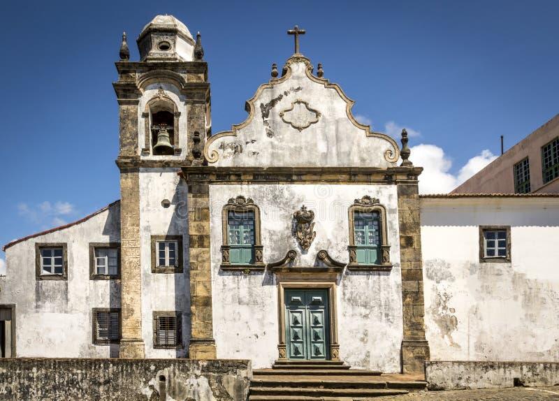 Olinda. View of one of the historic catholic churches in Olinda, Pernambuco, Brazil royalty free stock image