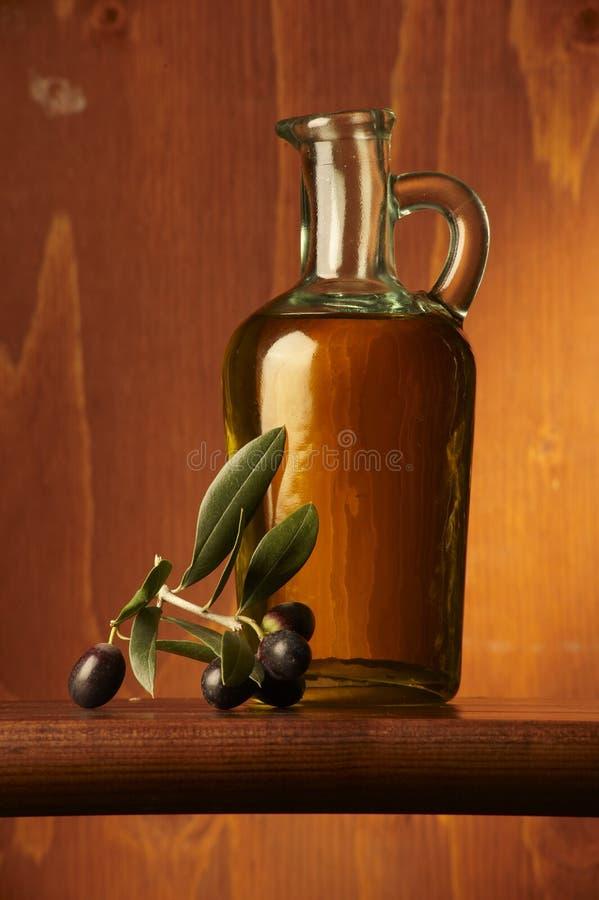 Olio d'oliva stockfotografie