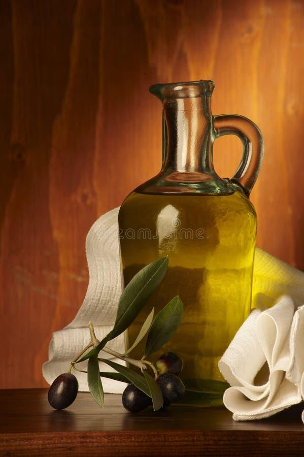 Olio d'oliva stockfoto
