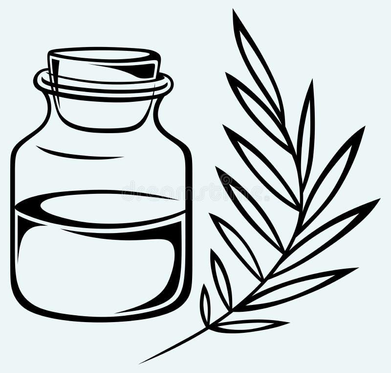Olio di fragranza illustrazione vettoriale
