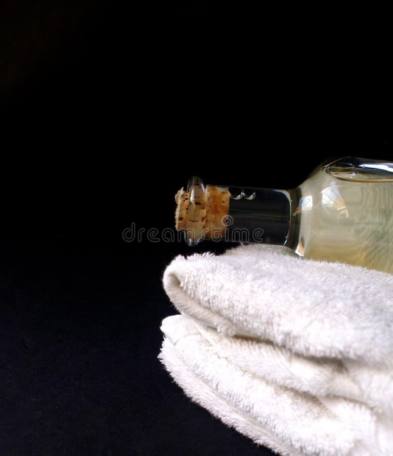 Olio di massaggio fotografie stock