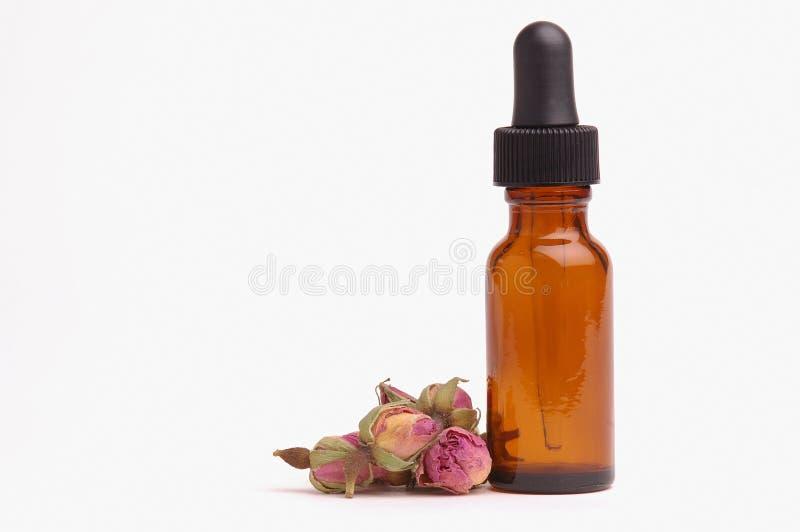 Olio essenziale della Rosa immagine stock libera da diritti