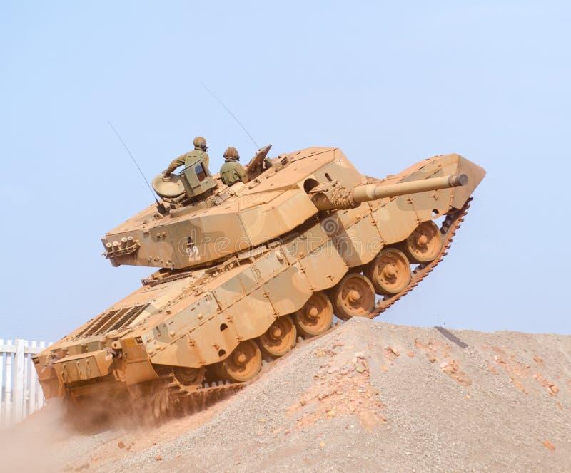 Oliphant坦克上升的斜面 库存图片