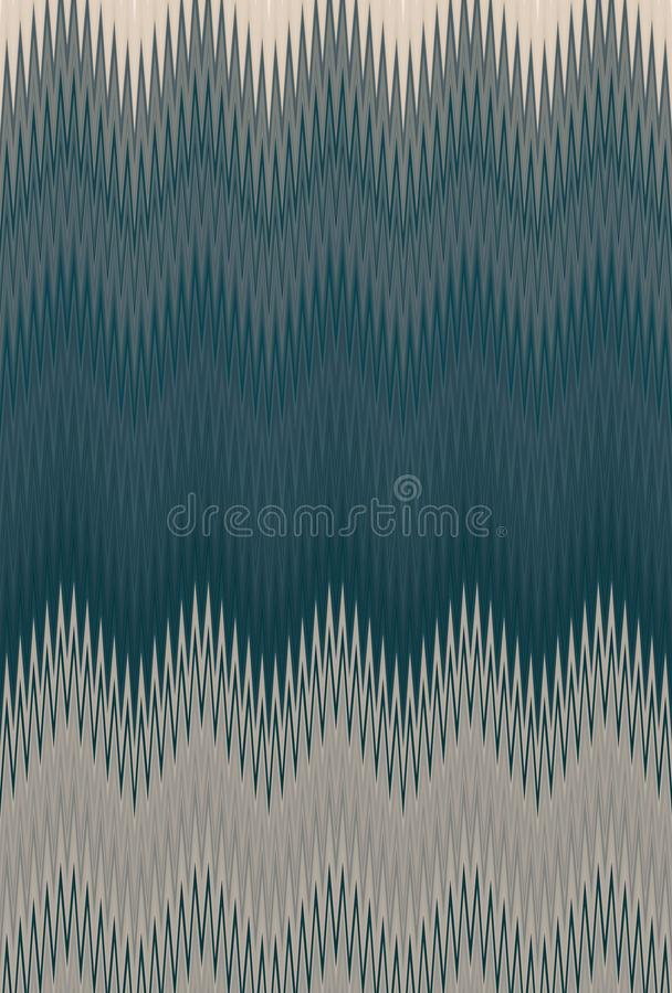 Oliv f?r bakgrund f?r sparresicksackmodell bronser royaltyfri illustrationer