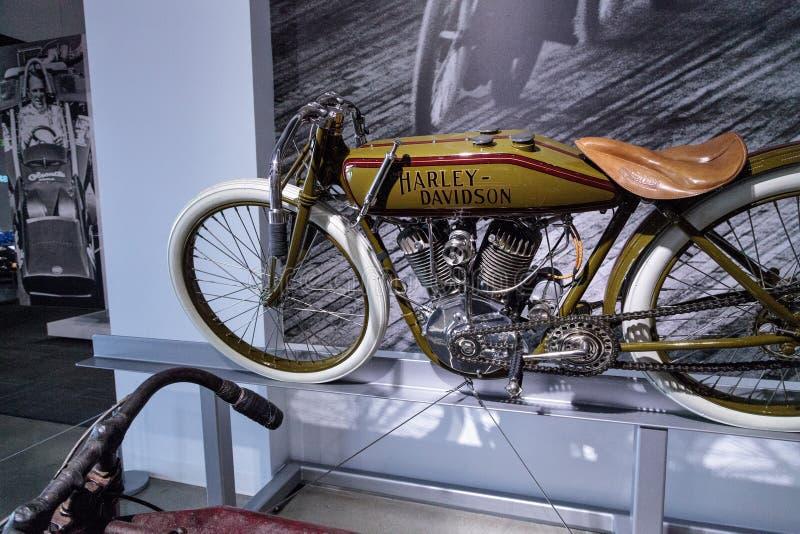 Oliva Harley-Davidson Board Track Racer Motorcycle 1920 fotografia stock libera da diritti