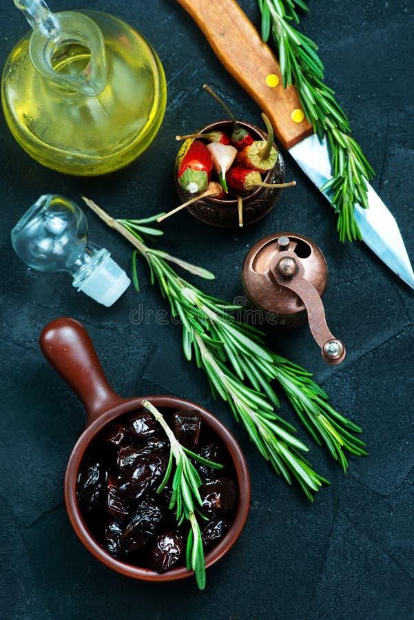 Olive asciutte fotografia stock libera da diritti