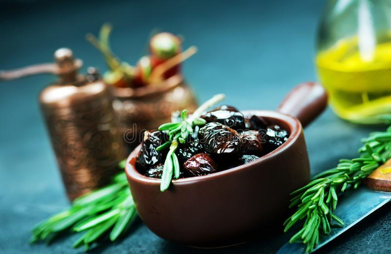 Olive asciutte fotografie stock