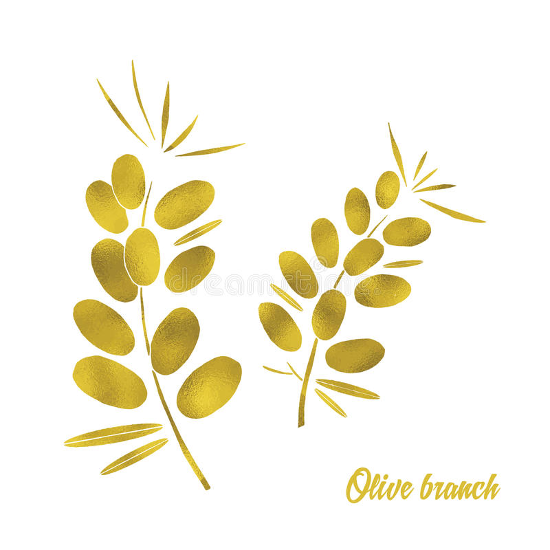 Olive Branch illustration libre de droits