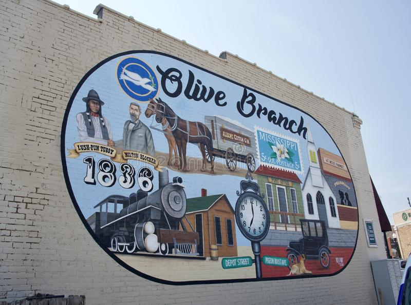 Olive Branch, Mississippi stockfotos
