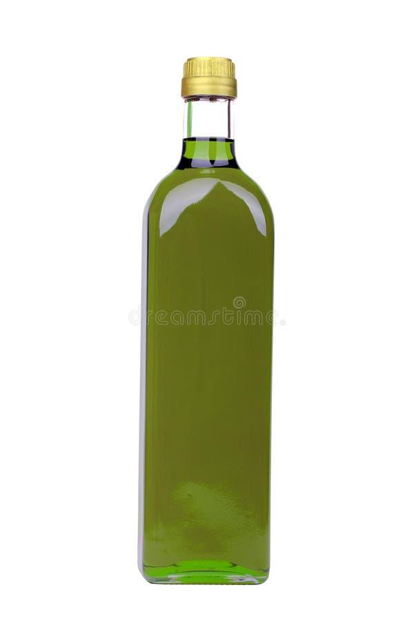 olive de pétrole de bouteille photo libre de droits