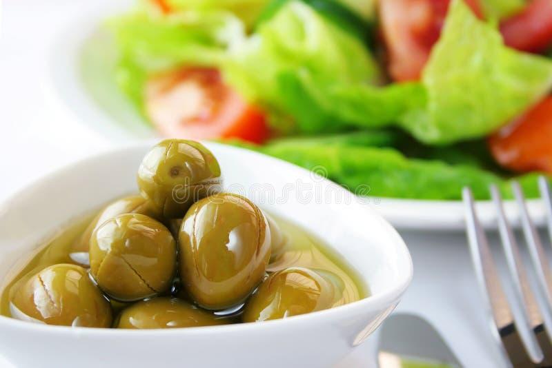 Olive Dish Royalty Free Stock Photo