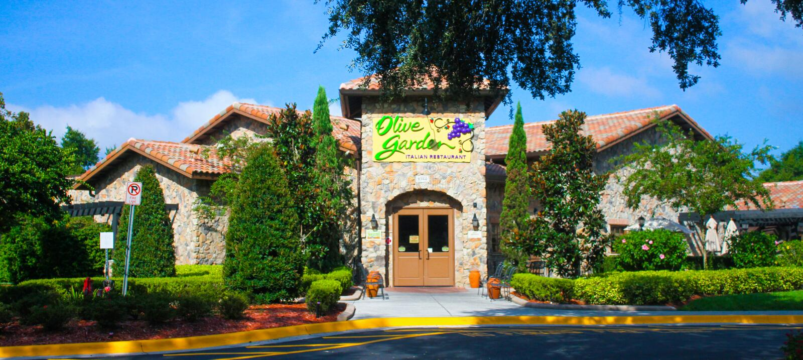 Olive Garden, International Drive Orlando, Florida Editorial Photo ...