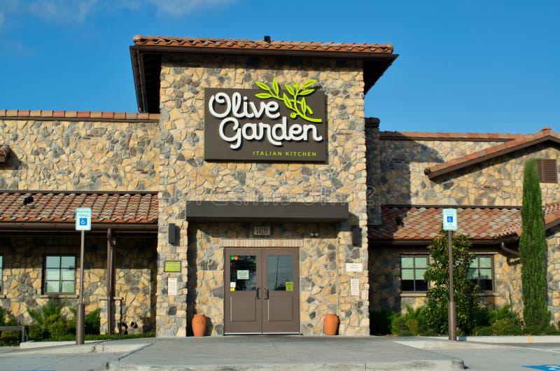 Olive Garden Main Entrance In Humble Texas Editorial Stock Photo