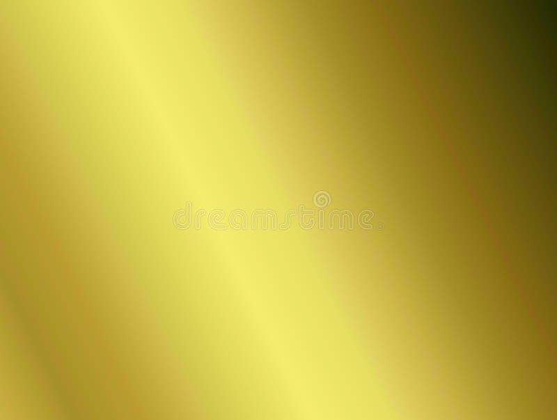 Olive Gradient Background dourada imagem de stock