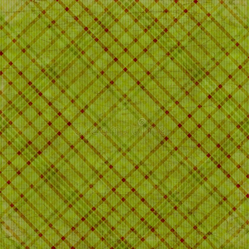 Download Olive Green Plaid Background Stock Illustration - Image: 3462761