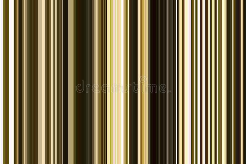 Olive green seamless stripes pattern. Abstract illustration background. Stylish modern trend colors. vector illustration