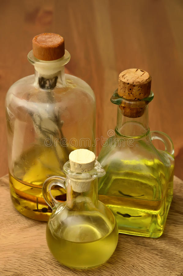 Download Olive and herbal oil stock photo. Image of spices, food - 18018256
