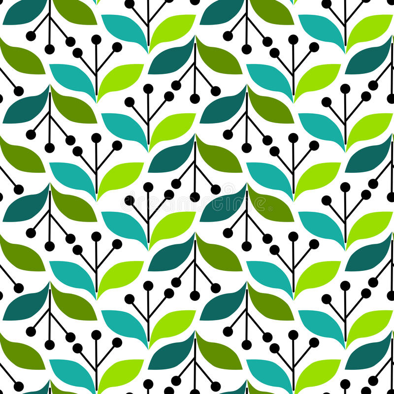 Download Olive Leaves Seamless Background Stock Illustration - Image: 25151222