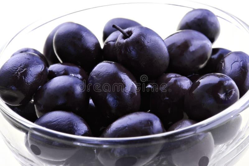 Olive nere immagini stock