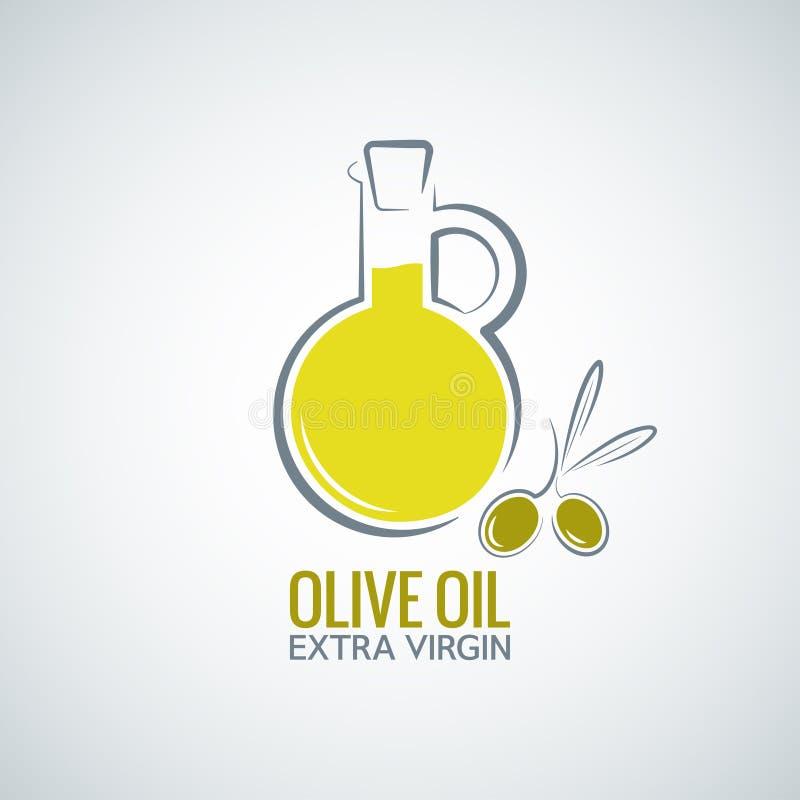 Olive oil background. Design food 8 eps vector illustration