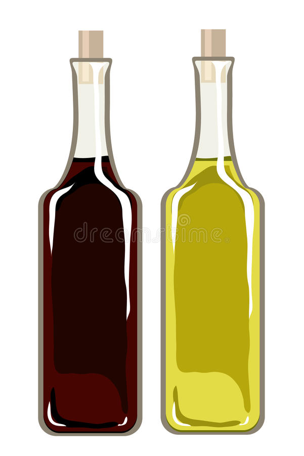 Download Olive Oil And Balsamic Vinegar Stock Vector - Image: 13548804