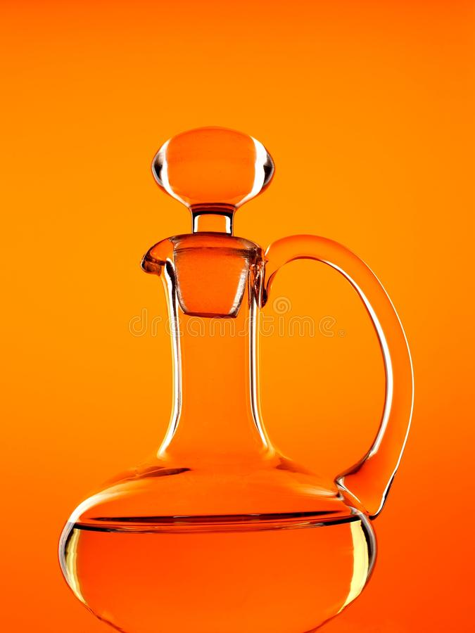 Olive Oil Bottle stock photography