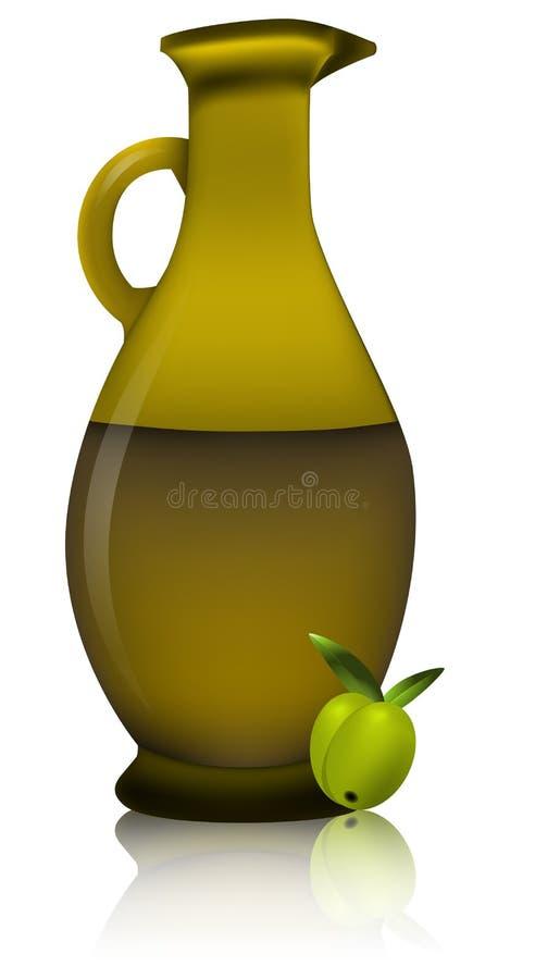 Download Olive oil bottle stock vector. Image of mediterranean - 24640925