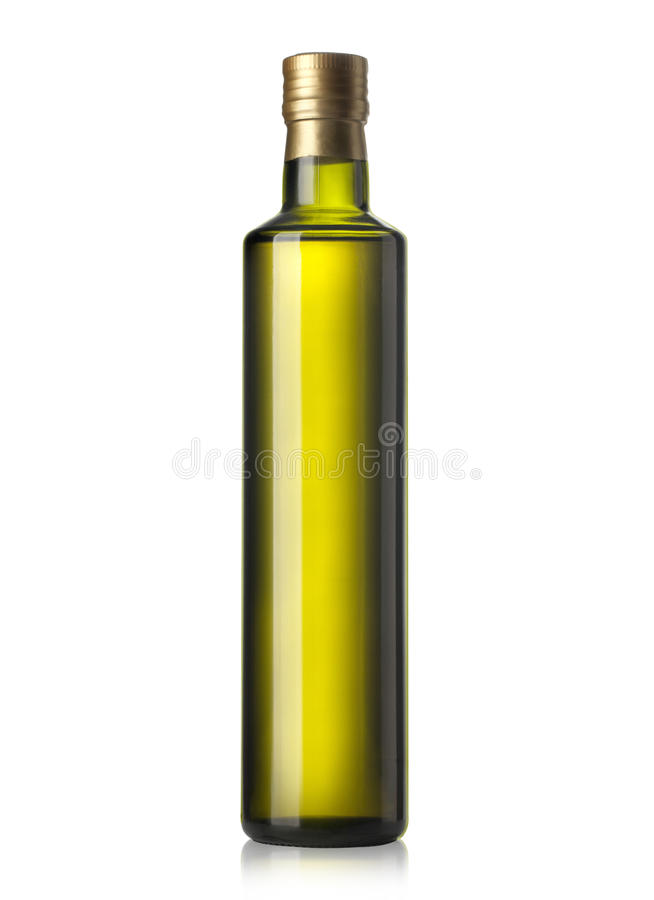 Olive Oil Bottle photo libre de droits