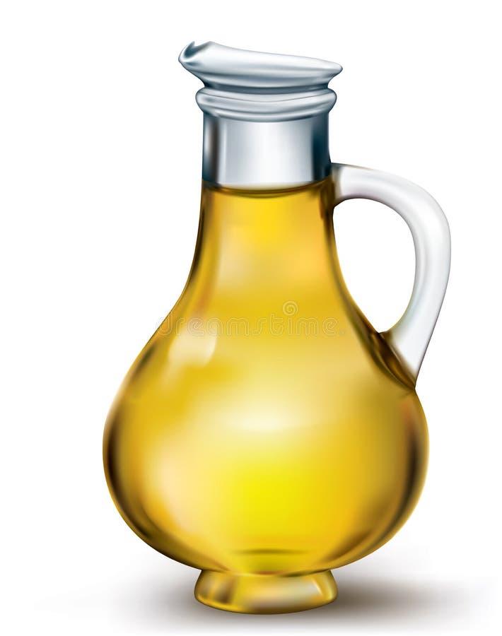 Olive Oil Bottle stock abbildung