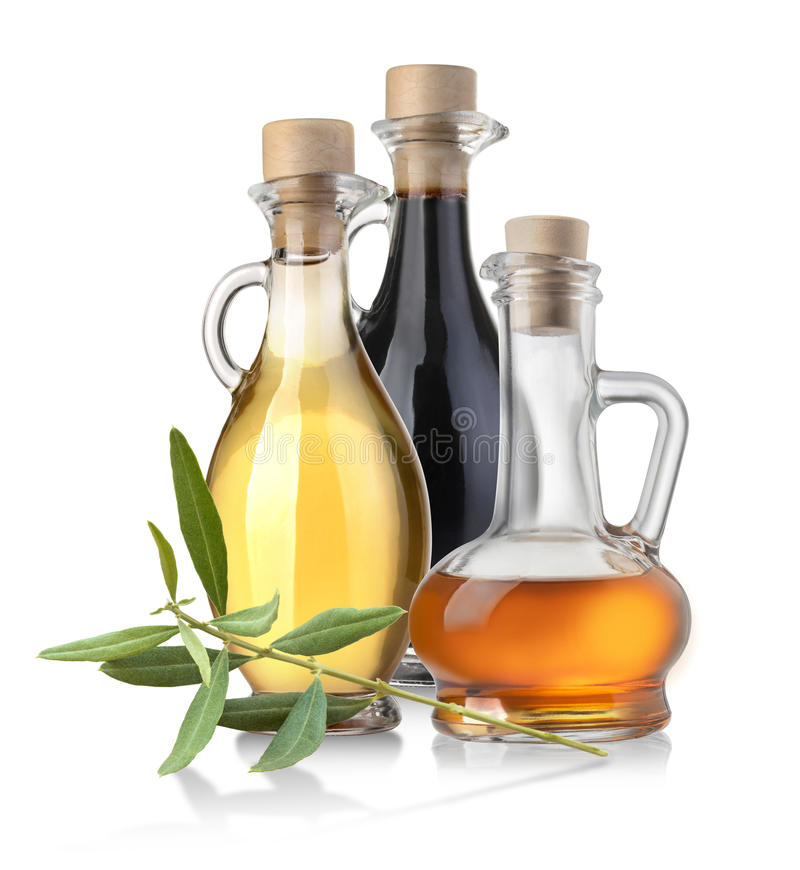 Olive Oil Bottle photo stock