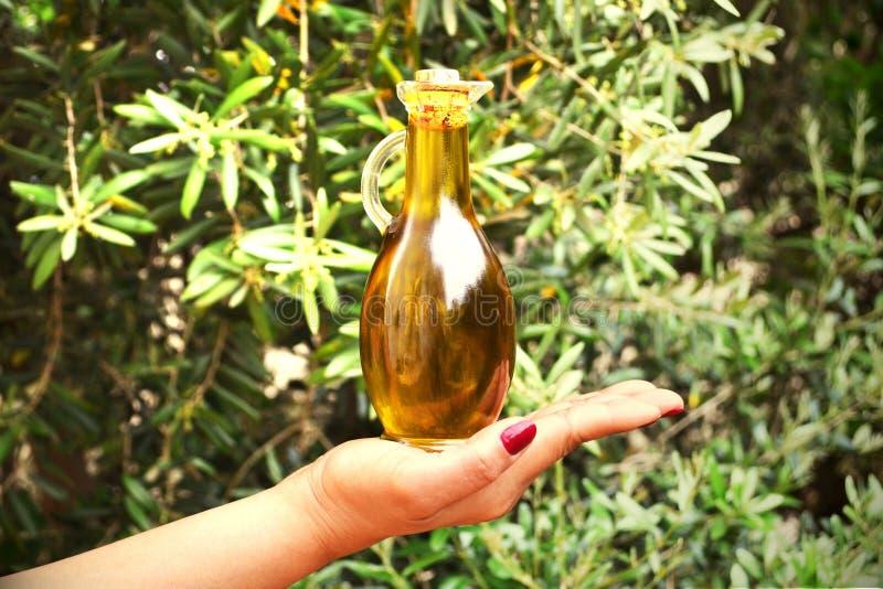 Olive Oil Bottle stock fotografie